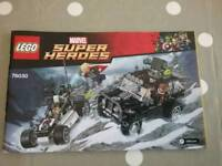 Lego Super Heroes set 76030