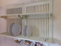Wall Mount Plate and Storage Racks