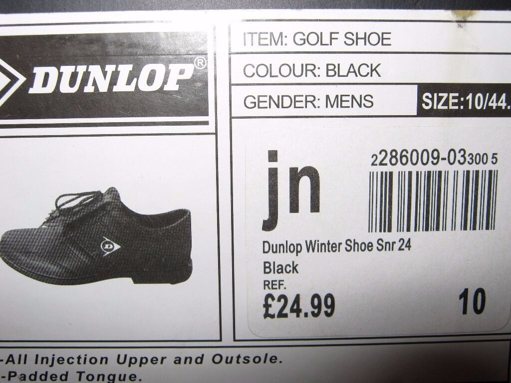 dunlop golf shoes