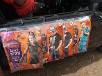 Bulk lot of Halloween costumes