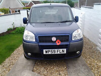 2009 fiat doblo dynamic wheelchair disabled accessible vehicle car 26k 1.4cc