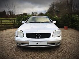 Mercedes Benz SLK 2.3 Kompressor Sport Edition Convertible/Auto/AMG Style Red Leather/12 Month MOT