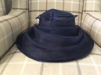 Brand new Navy blue occasion hat