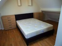 Large Double Loft type room with private toilet to rent in Prince Regent