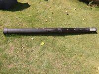 extendable Phantom hard fishing rod case