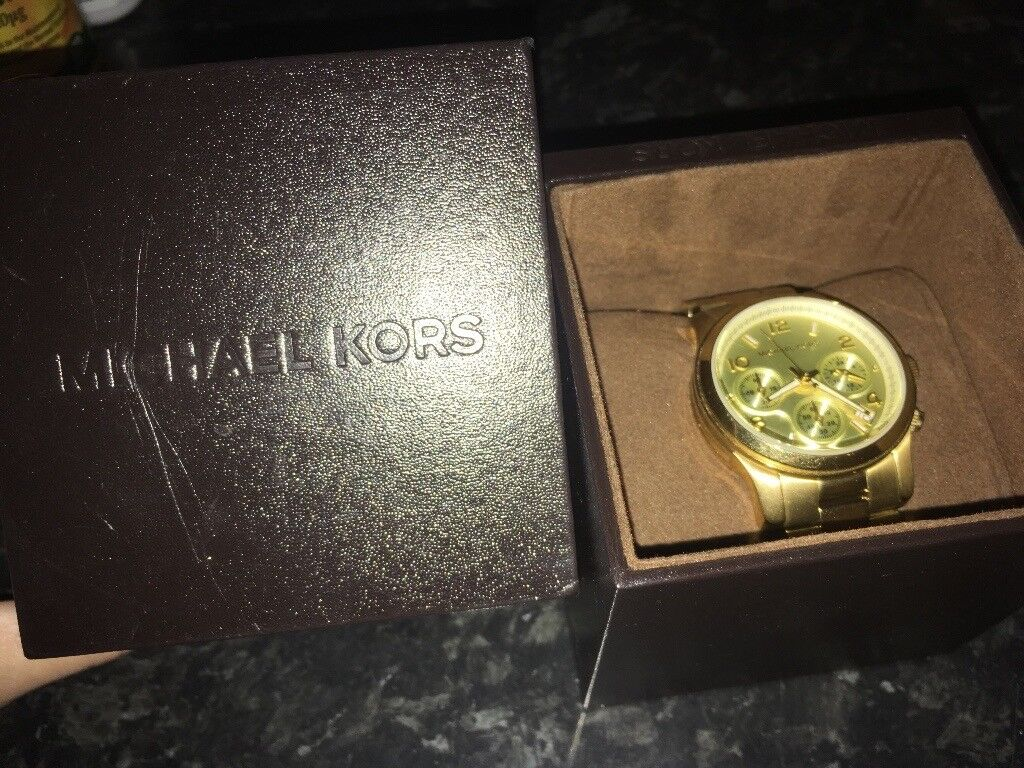 GOLD Micheal kors watch