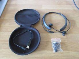 Bose Quiet control 30 noise-cancelling headphones.