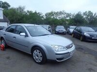 2005 Ford Mondeo 1.8 Petrol MOT'd JULY 17 for Spares or Repair Hence £175
