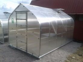 Standard classic - super strong and stable greenhouse for windy areas. 15m2 (2.5x6)
