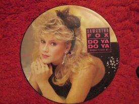 "SAM FOX 12"" PICTURE DISC £10 ONO"