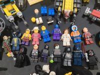 LEGO Minifigures + selection of random Lego