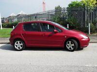 PEUGEOT 307 se 5 door hatchback 03 reg