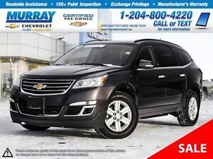 2013 Chevrolet Traverse 2LT *Remote Start, OnStar, Heated Seats*