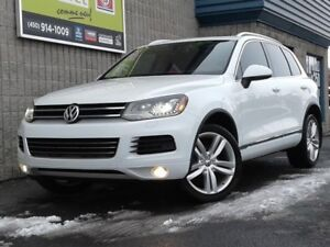 2012 Volkswagen Touareg TDI*EXECLINE*DIESEL*GPS*CUIR*TOIT*AWD*