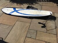 Long board Zetech 7,6´´ . Barely used. No damages. Includes Tugaboard Bag