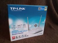 TP-Link ADSL2 Router - new & boxed
