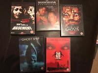 horror and thriller dvds
