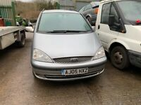 2005 Ford Galaxy Ghia TDI Auto 1.9 Diesel Silver BREAKING FOR SPARES