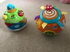 VTech Children's toys Wobble N Learn Tree & Crawl and Learn Bright Lights Ball