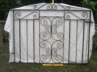 Wrought iron gates (pair)