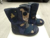 Toddler boots from Clarks size 4.5F - very good condition