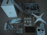 DJI Phantom 4 as new+accesories
