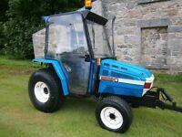 iseki compact tractor 4x4