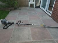 2 in 1 petrol hedgecutte strimmer