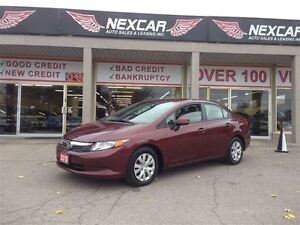 2012 Honda Civic LX AUT0 A/C CRUSIE ONLY 79K