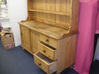 BIG OLD PINE DRESSER at Haven Housing Trust's charity shop