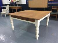 Quality bespoke antique reclaimed Pine dining tables