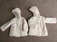 Girls Reversible Winter coats by London Fog age 3-4