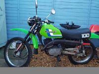 1992 Kawasaki KE100