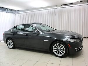 2016 BMW 5 Series 528i x-DRIVE AWD EXECUTIVE SEDAN w/ NAV, HEAD