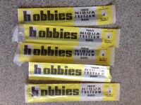 Hobbies no4 fret saw blades 5 packs