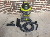 Guild 30L Steel Drum Wet and Dry Vacuum Cleaner - 1500W good condition ready to use