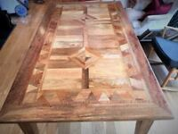 Beautiful 6ft Dining Table with Stunning Artisan Design