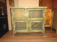 brand new 3ft 2 tier rabbit/ guinea pig hutch in foorest green