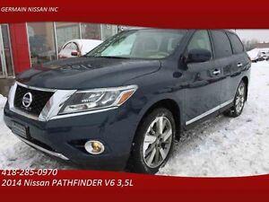 2014 Nissan PATHFINDER Platinum 4WD CUIR / GPS/TAUX TRÈS AVNTAGE