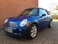 Mini Cooper Cabriolet with Chilli pack low mileage