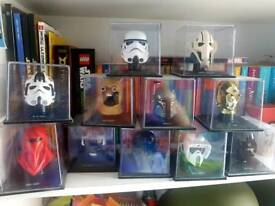 Star wars heads collection
