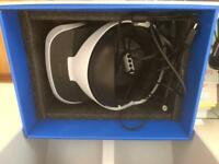 Ps VR headset with camera and controllers