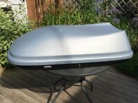 Roof Box Halfords 470 Litres