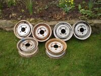 Original Mini wheel rims