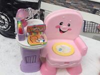Fisher price baby music chair
