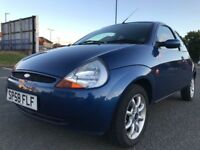 Very low 56,000 mls, NOV 2008 Ford KA ZETEC CLIMATE 1.2, F S H, YEARS MOT,like punto clio yaris polo