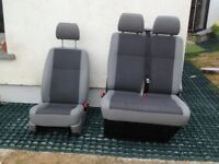 VW T5 Transporter Front seats