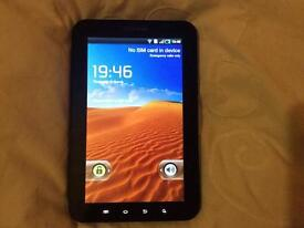 Samsung tab gt1000 on T-Mobile ee and orange network