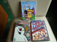 3 CHILDREN'S FILM DVDs, RARELY VIEWED, PLUS 7 OTHER DVDs, GREAT CHRISTMAS PRESENTS