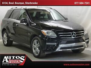2012 Mercedes-Benz M-Class ML 350 BlueTEC + CUIR + GPS + TOIT +